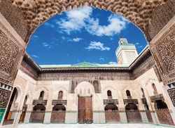 Fes Medrese Bou Inania iStock622433970 web